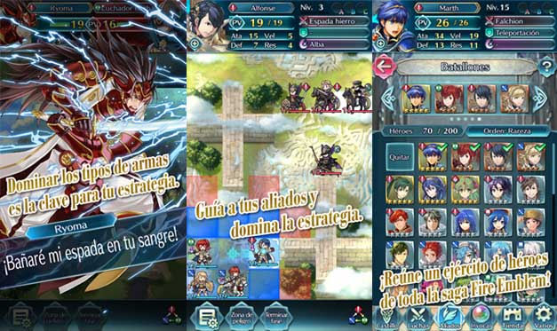 Fire Emblem de Nintendo ya disponible en Android